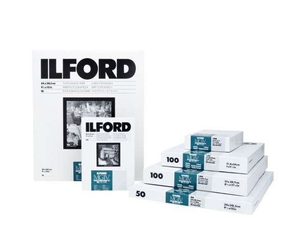 "Ilford Multigrade V RC De Luxe pearl (44M) 40,6x50,8cm (16x20"") 50 Blatt"