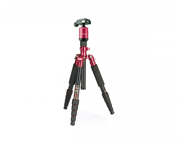 SALE | Rollei Compact Traveler No. 1 | Travel Tripod, Color 'Red'