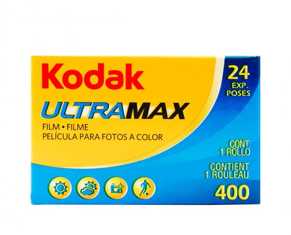 Kodak Ultra Max 400 35mm 24 exposures