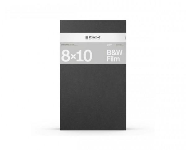 Polaroid B&W 8x10 Film | Sofortbildfilm mit 10 Aufnahmen