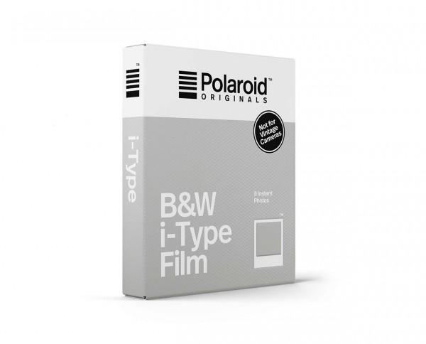 Polaroid B&W i-TypeFilm | Sofortbildfilm mit 8 Aufnahmen