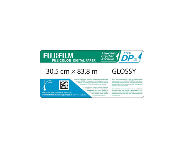 Fuji Crystal Archive photographic color paper glossy wide roll 30,5cm x 83,8m