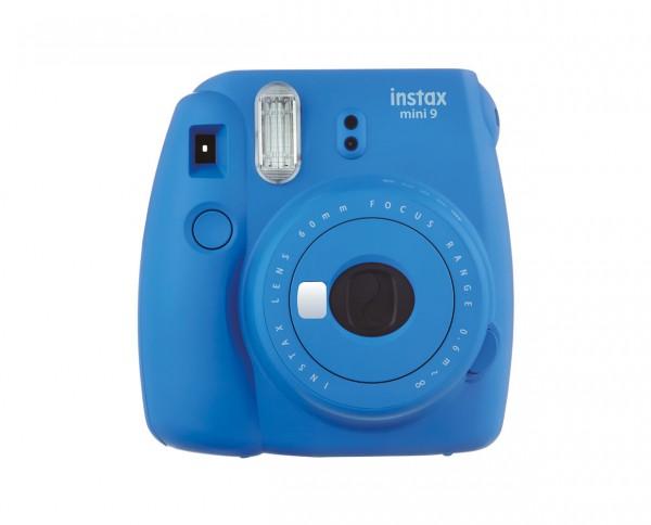 Fuji instax mini 9 instant camera cobalt blue