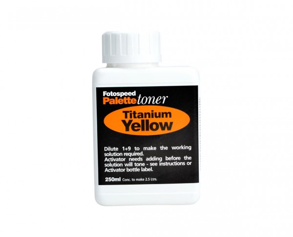 Fotospeed Titanium Yellow Toner 250ml