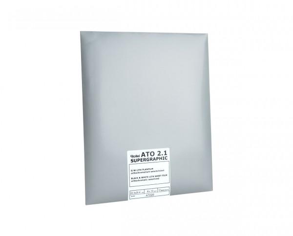 "SALE | Rollei ATO 2.1 Planfilm 10,2x12,7cm (4x5"") 10 Blatt"