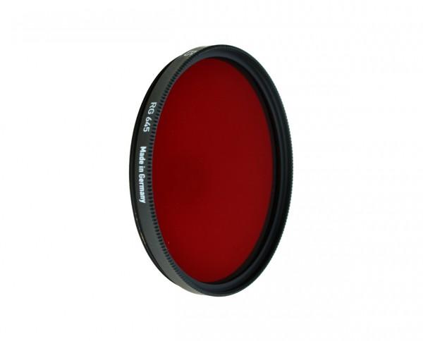 Heliopan infrared filter RG 645 diameter: Rollei Baj. III/ 2.8