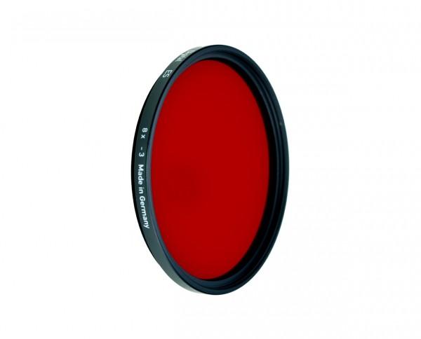 Heliopan SW-Filter rot 29 Durchmesser: Baj. 60 für Hasselblad SHPMC-Vergütet