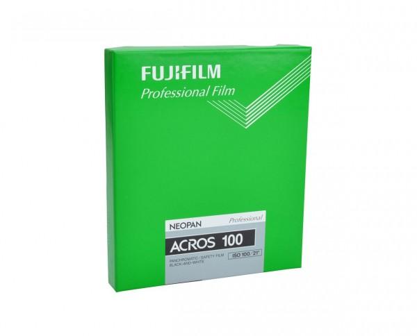 "Fuji Neopan Acros 100 Planfilm 10,2x12,7cm (4x5"") 20 Blatt"