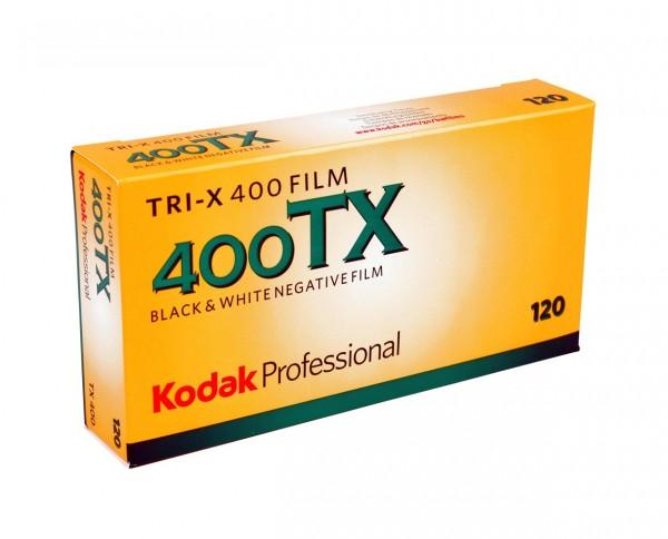 Kodak TRI-X roll film 120 pack of five