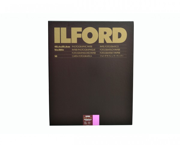"Ilford Multigrade FB warmtone glossy (1K) 12x16"" (30.5x40.6cm) 10 sheets"