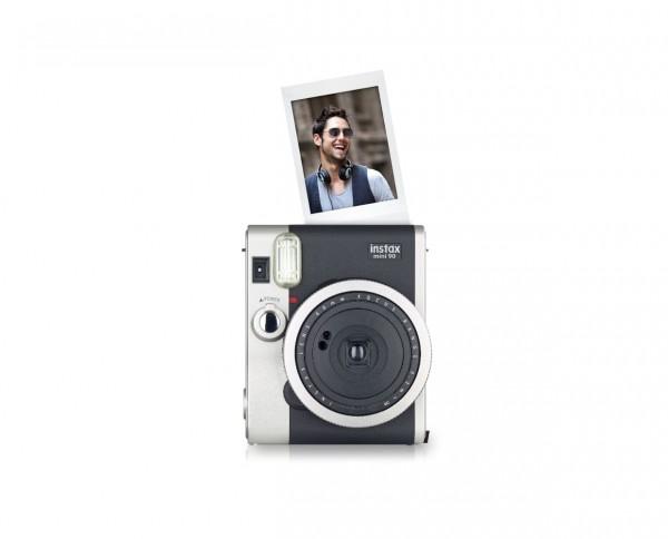 Fuji instax mini 90 Neo Classic Sofortbildkamera im Retrodesign