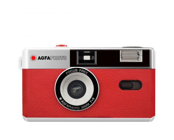 Agfaphoto Analoge 35mm Kamera rot