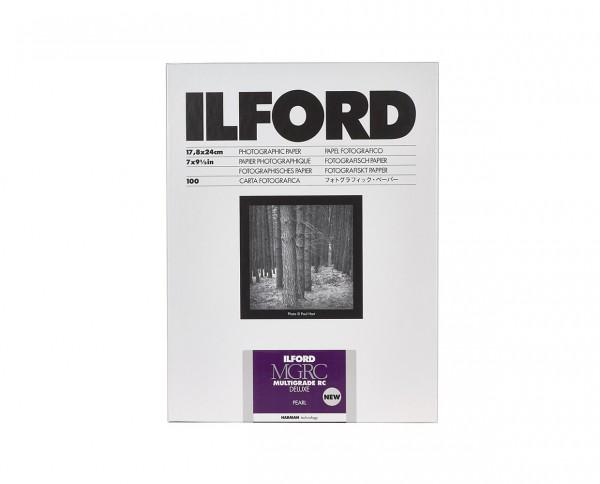 Ilford Multigrade V RC De Luxe pearl (44M) 7x9.5 (17.8x24cm) 100 sheets