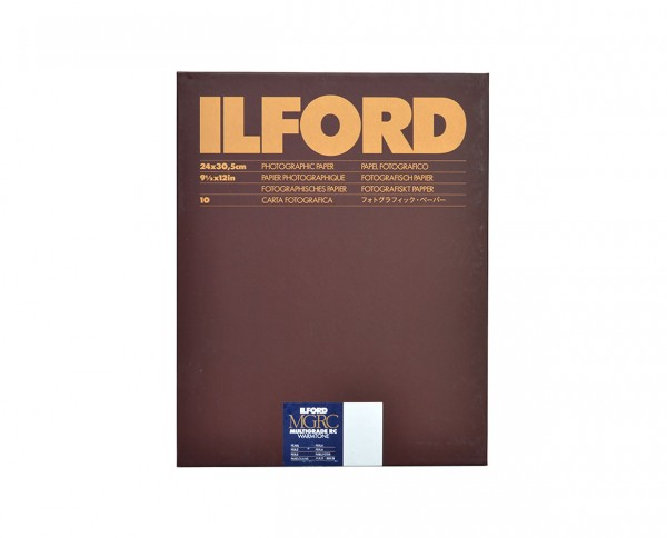 "Ilford Multigrade RC warmtone pearl 12x16"" (30.5x40.6cm) 50 sheets"