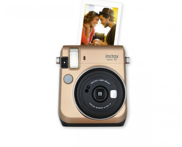 Fuji instax mini 70 instant camera stardust gold