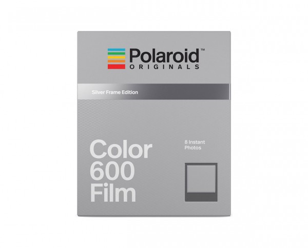 Polaroid Color 600 'Silver Frames Edition'| Color instant film with 8 exposures