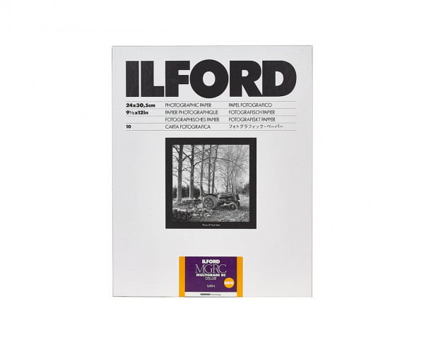 "Ilford Multigrade RC De Luxe pearl (44M) 24x30,5cm (9,5x12"") 10 Blatt"