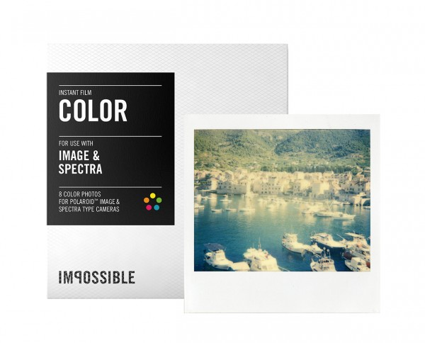 Impossible Color Image & Spectra instant film 8 exposures