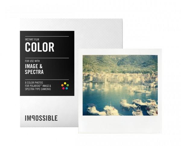 Impossible Color Image & Spectra Sofortbildfilm 8 Aufnahmen