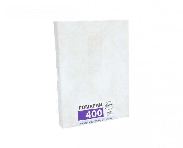 "Fomapan 400 sheet film 8x10"" (20.3x25.4cm) 50 sheets"