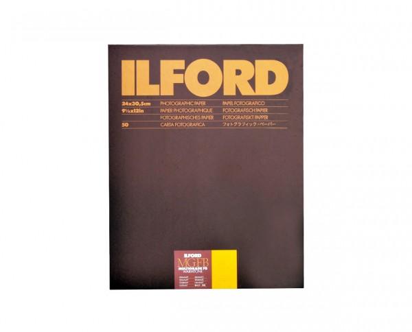 "Ilford Multigrade FB warmtone semi-matt (24K) 9.5x12"" (24x30.5cm) 50 sheets"