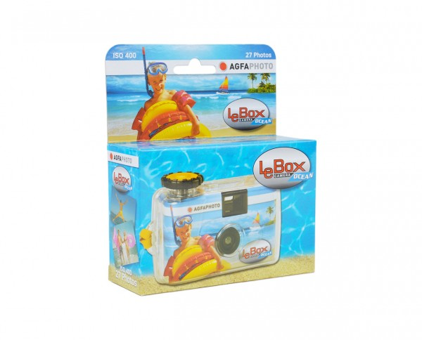 AgfaPHOTO Le Box Ocean waterproof single-use Camera