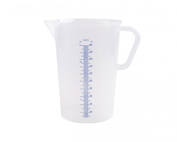 Vitlab graduated beaker with handle 2,000ml
