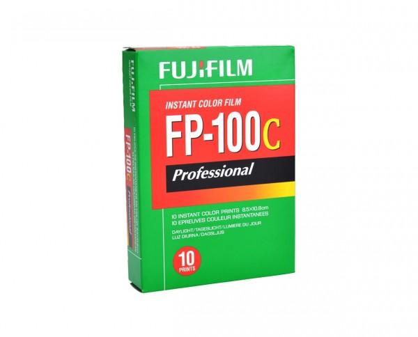 "Fuji FP 100 C glänzend Sofortbildfilm 8,5x10,8cm (3x4"") 10 Aufnahmen | MHD 10.2018"