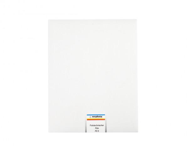 """Wephota FO 5 Lithfilm 20,3x25,4cm (8x10"""") 20 Blatt"""