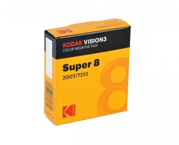 KODAK VISION3 200T Color Negative Film | 50 ft Super 8 Cartridge