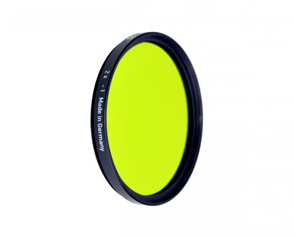 Heliopan black and white filter yellow green 11 diameter: 46mm (ES46)