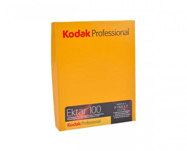 "Kodak Ektar 100 Planfilm 10,2x12,7cm (4x5"") 10 Blatt"