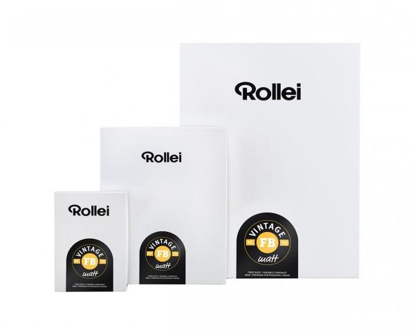 "Rollei Vintage 112 FB matt 24x30,5cm (9,5x12"") 10 Blatt"