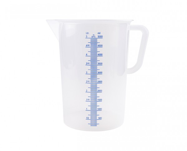 Vitlab graduated beaker with handle 5,000ml