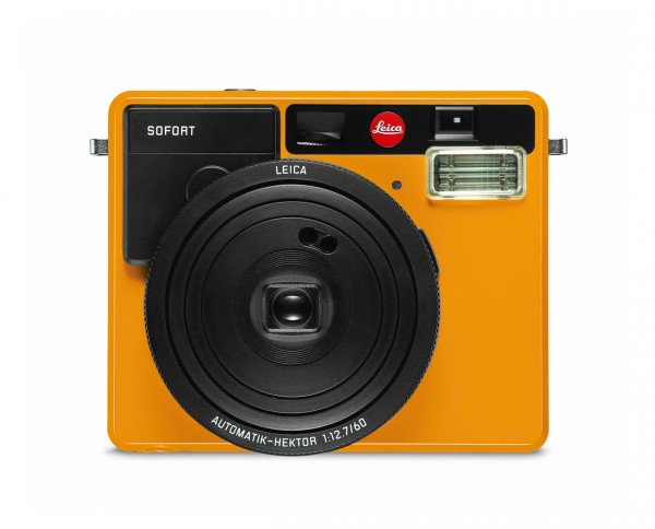Leica SOFORT Sofortbildkamera orange