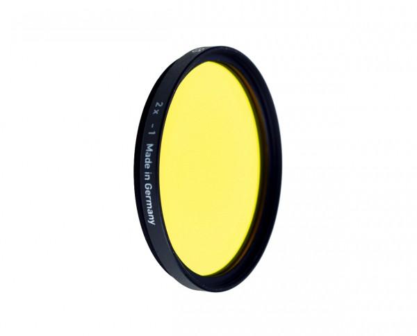Heliopan black and white filter medium yellow 12 diameter: 58mm (ES58)