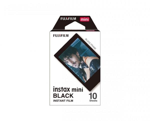 Fuji instax mini Sofortbildfilm Black Frame Edition 10 Aufnahmen