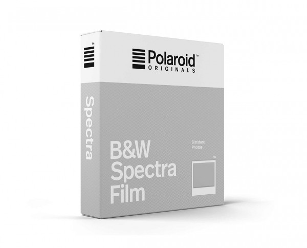 Polaroid B&W Spectra Film | Instant film with 8 exposures