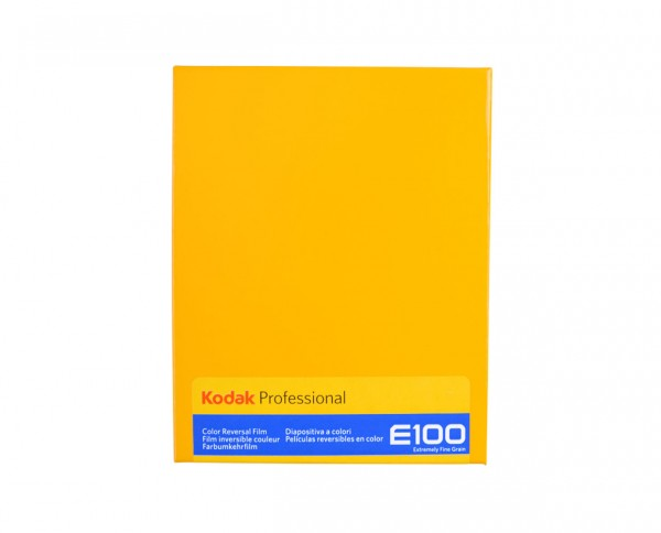 "Kodak Ektachrome E100 sheet film 4x5"" (10.2x12.7cm) 10 sheets"