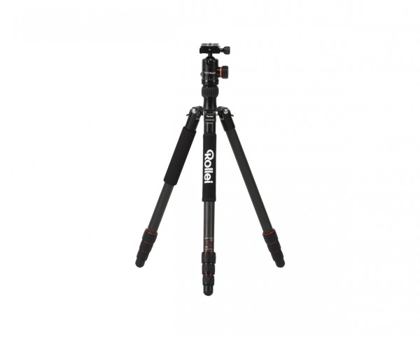 Rollei Tripod C5i Carbon 'Black' | Incl. ball head and tripod bag