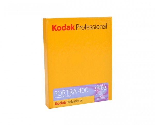 "Kodak Portra 400 Planfilm 10,2x12,7cm (4x5"") 10 Blatt"