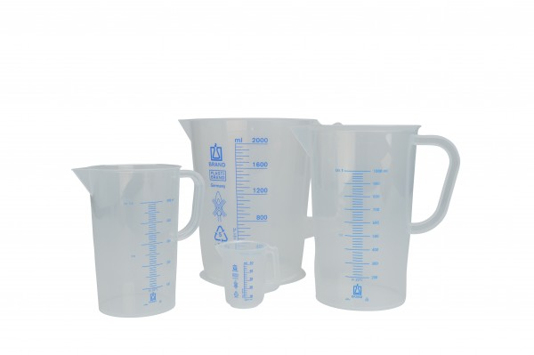 Vitlab Graduated beaker with handle 500ml