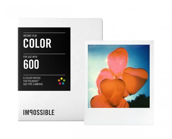 SALE | Impossible Color 600 Sofortbildfilm 8 Aufnahmen