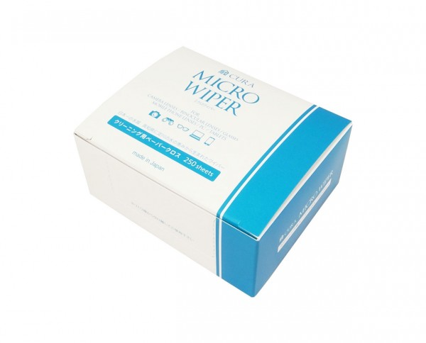 Cura Micro Wiper micro fibre cleaning papers 250 pcs.