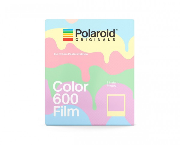 Polaroid Color 600 'Ice Cream Pastels Edition' | Instant film with 8 exposures