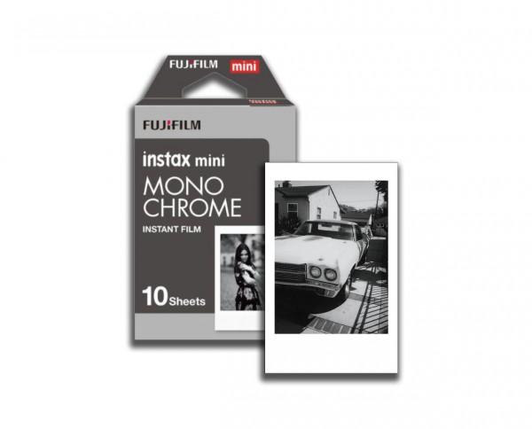 Fuji instax mini MONOCHROME instant film 10 exposures