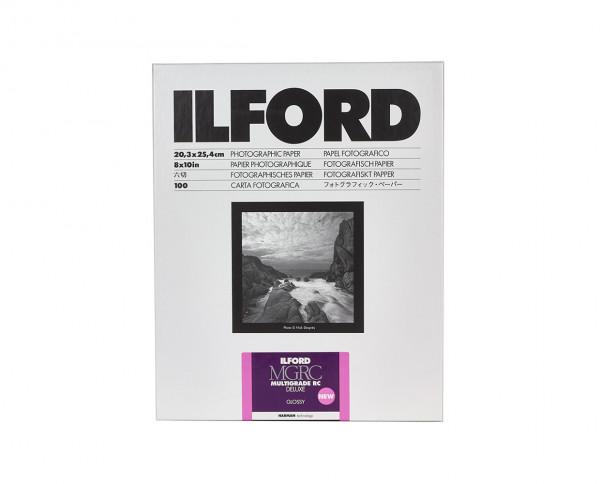 """Ilford Multigrade RC De Luxe glänzend (1M) 20,3x25,4cm (8x10"""") 100 Blatt"""