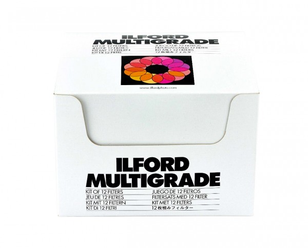 Ilford Filterkit Multigrade incl. 12 MG-filter