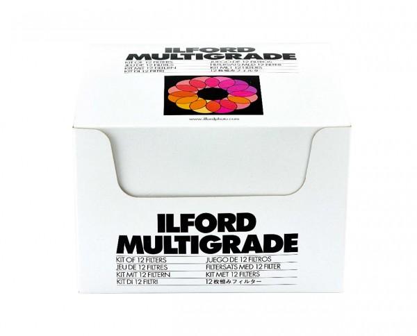 Ilford Multigrade Filtersatz mit Halterung für Objektiv (12 Filter)