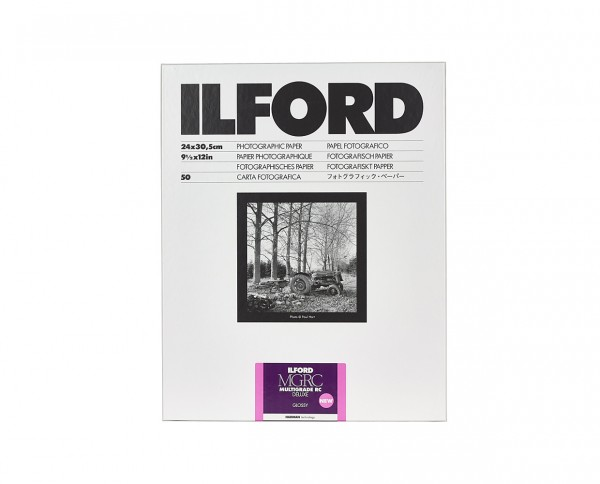 "Ilford Multigrade V RC De Luxe glossy (1M) 9.5x12"" (24x30.5cm) 50 sheets"